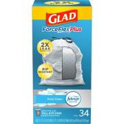 Clorox Glad ForceFlexPlus Tall Kitchen Drawstring Trash Bags (70320)