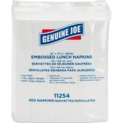 Genuine Joe 1-ply Embossed Lunch Napkins (11254ACT)