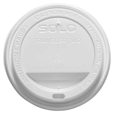 SOLO Cup Company Solo Cup Traveler Hot Cup Lids (OFTL160007)