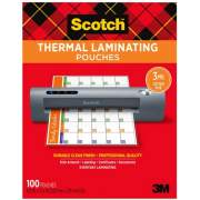 3M Scotch Thermal Laminating Pouches (TP5854-100)