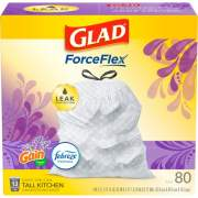 Clorox Glad OdorShield Tall Kitchen Drawstring Trash Bags (78902)