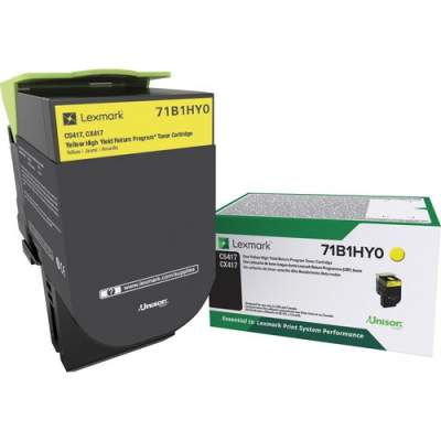 Lexmark Toner Cartridge - Yellow (71B1HY0)