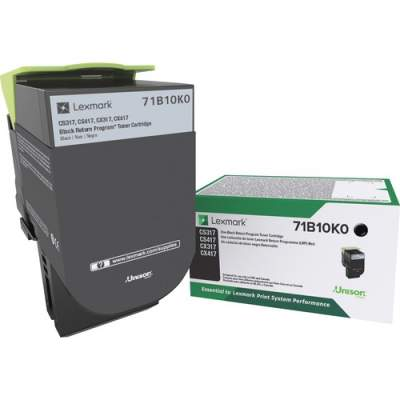 Lexmark Toner Cartridge - Black (71B10K0)