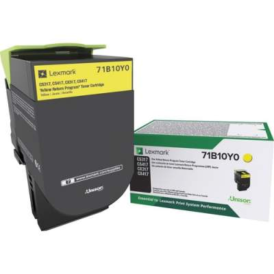Lexmark Toner Cartridge - Yellow (71B10Y0)