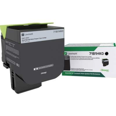 Lexmark Toner Cartridge - Black (71B1HK0)