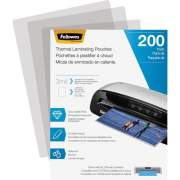 Fellowes Thermal Laminating Pouches - Letter, 3 mil, 200 pack (5743401)