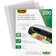 Fellowes Thermal Laminating Pouches - Letter, 5 mil, 200 pack (5743601)