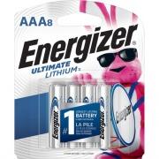 Energizer Ultimate Lithium AAA Batteries, 8 Pack (L92SBP8)