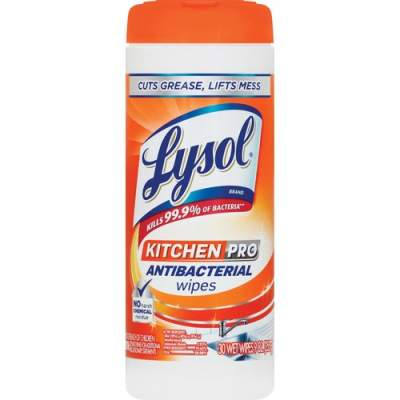 LYSOL Kitchen Pro Anti-bacterial Wipes (96268EA)
