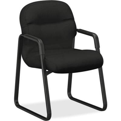 HON Pillow-Soft Guest Chair, Fixed Arms (2093CU10T)