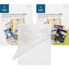 Business Source 5 mil Clear Laminating Pouches (20855BD)
