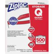 S. C. Johnson & Son Ziploc Brand Seal Top Quart Storage Bags (682256)