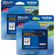 Brother P-touch TZe Laminated Tape Cartridges (TZE334BD)