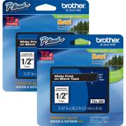 Brother P-touch TZe Laminated Tape Cartridges (TZE335BD)