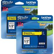 Brother P-touch TZe Laminated Tape Cartridges (TZE631BD)