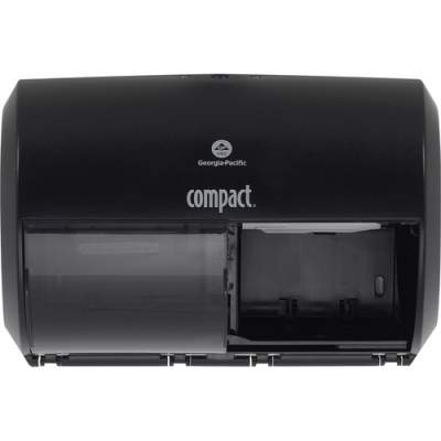 Georgia Pacific Compact 2-Roll Side-by-Side Coreless High-Capacity Toilet Paper Dispenser (56784A)