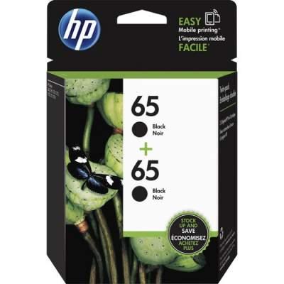 HP 65 2-pack Black Original Ink Cartridges (1VU22AN)