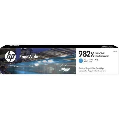 HP 982X High Yield Cyan Original PageWide Cartridge (T0B27A)