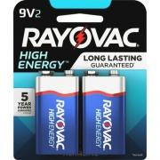 Rayovac Alkaline 9V Batteries (A16042K)