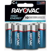 Spectrum Brands Rayovac Alkaline C Batteries (8144TK)