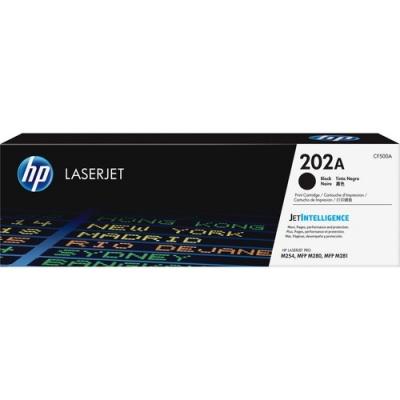 HP 202A Black Original LaserJet Toner Cartridge (CF500A)