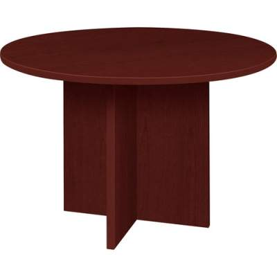 Lorell Prominence Round Laminate Conference Table (PT42RMY)
