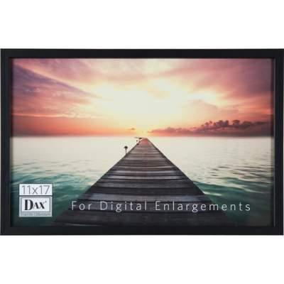 Burnes Home Accents DAX Digital Enlargement Black Wood Frame (N16817BT)