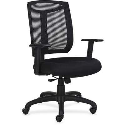 Lorell Mesh Back Chair with Air Grid Fabric Seat (83100)