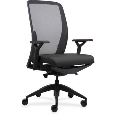Lorell Executive Mesh Back/Fabric Seat Task Chair (83104)
