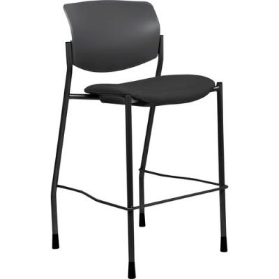Lorell Fabric Seat Contemporary Stool (83119)