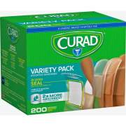 Medline Curad Variety Pack 4-sided Seal Bandages (CUR0800RB)