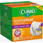 Medline Curad SoothePlus Medium Non-stick Pads (CUR202225AH)