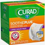 Medline Curad SoothePlus Medium Non-stick Pads (CUR204425AH)