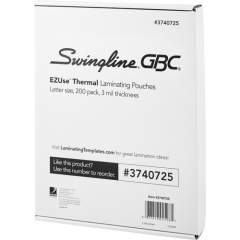 GBC EZUse Thermal Laminating Pouches (3740725)