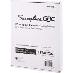 GBC EZUse Speed Format Thermal Laminating Pouches (3740726)
