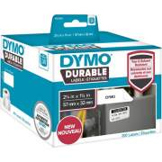 "DYMO LW Durable 2-1/4"" x 1-1/4"" (57mm x 32mm) White Poly, 800 labels (1933084)"