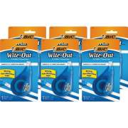 BIC Wite-Out EZ Correct Correction Tape (WOTAPP11BX)