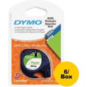 DYMO LetraTag Electronic Labelmaker Tape (10697BX)