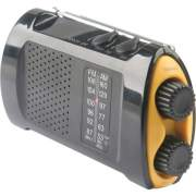 First Aid Only Portable AM/FMTV Crank Radio (90423)