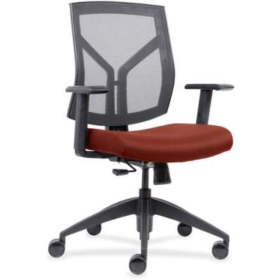 Lorell Mesh Back/Fabric Seat Mid-Back Task Chair (83111A203)
