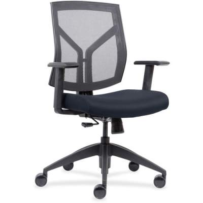 Lorell Mesh Back/Fabric Seat Mid-Back Task Chair (83111A204)