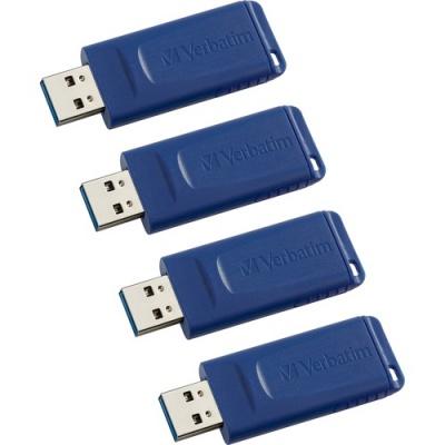 Verbatim 16GB USB Flash Drive - 4pk - Blue (97275CT)