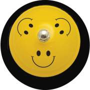 "Ashley Productions Ashley Smiley Face Design 3"" Base Hand Bell (10526)"
