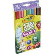 Crayola Silly Scents Slim Scented Washable Markers (585071)
