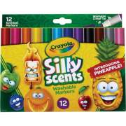 Crayola Silly Scents Slim Scented Washable Markers (588199)