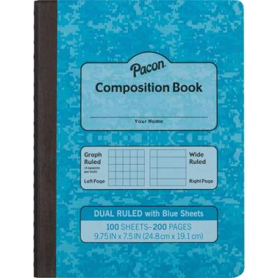 Pacon Dual Ruled Composition Book (MMK37160)