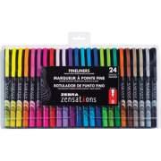 Zebra Pen Zensations Fineliner Pens (09024)