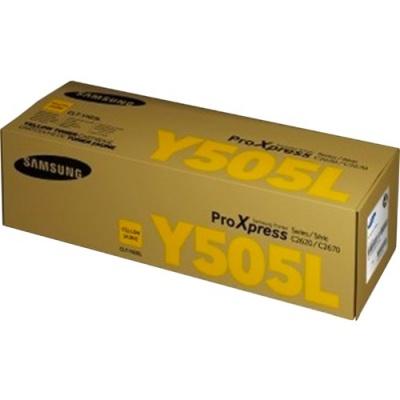 Samsung CLT-Y505L High Yield Yellow Toner Cartridge (SU514A)
