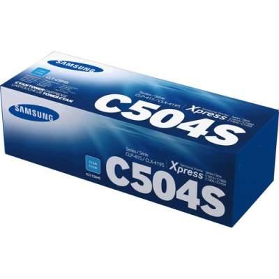 Samsung CLT-C504S Cyan Toner Cartridge (SU029A)