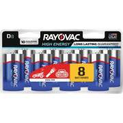 Rayovac Alkaline D Batteries (8138LK)